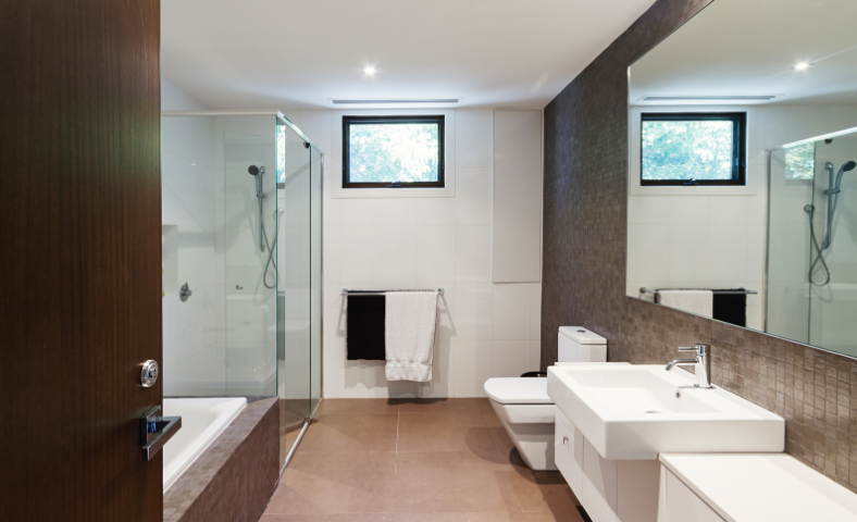 Bathroom Renovations and bathroom showrooms at Parramatta.