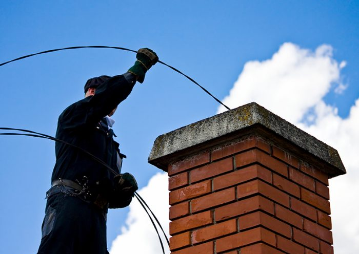 Get the chimney cleaning service you need