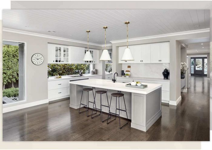 Kitchen designs in hornsby